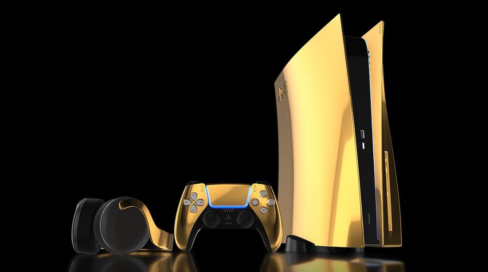 Скоро появятся предзаказы на золотую PS5 за  10 000