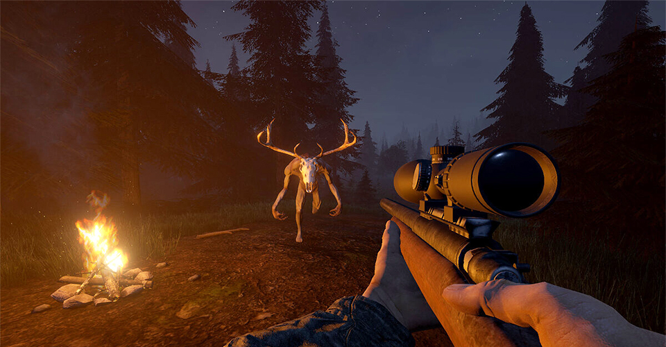 Состоялся релиз симулятора охоты с элементами хоррора  Skinwalker Hunt