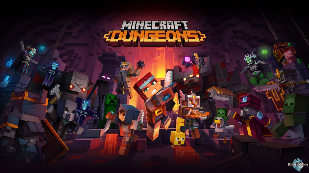 Слышали о Minecraft Dungeons