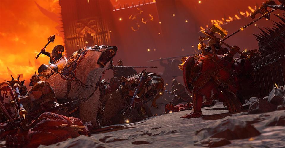 Разработчики Warhammer III опубликовали ролик где показано 8 минут из игрового процесса