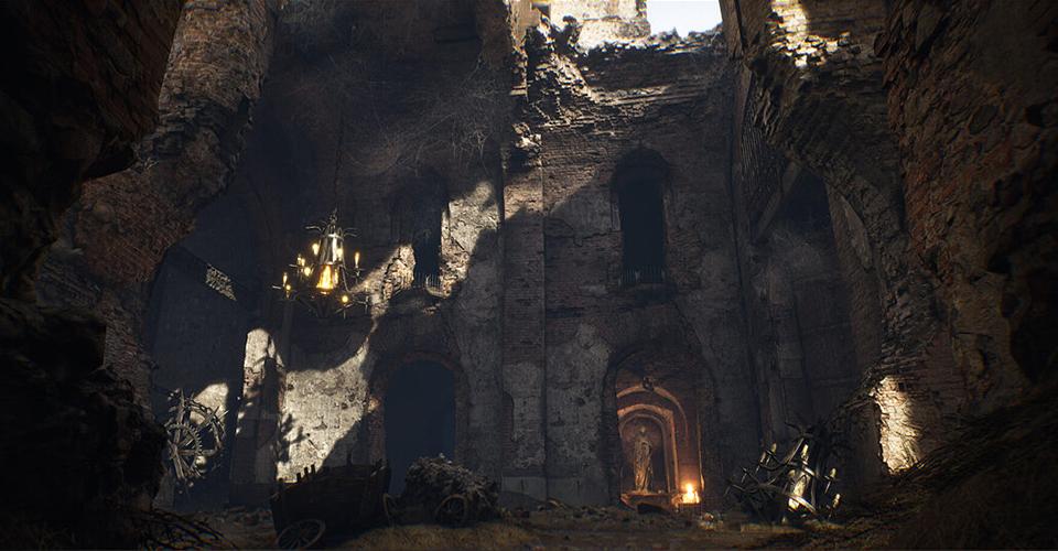 Очередная партия скриншотов из вымышленного боевика Witchfire от авторов проекта Painkiller