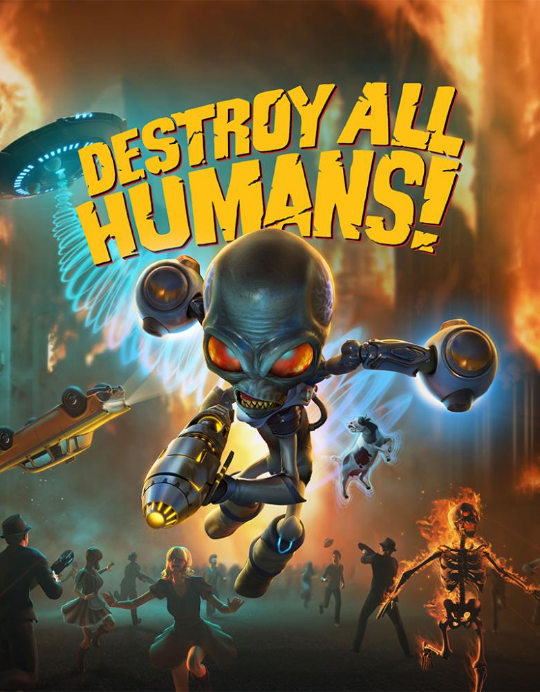 Скриншоты The Destroy All Humans Remake