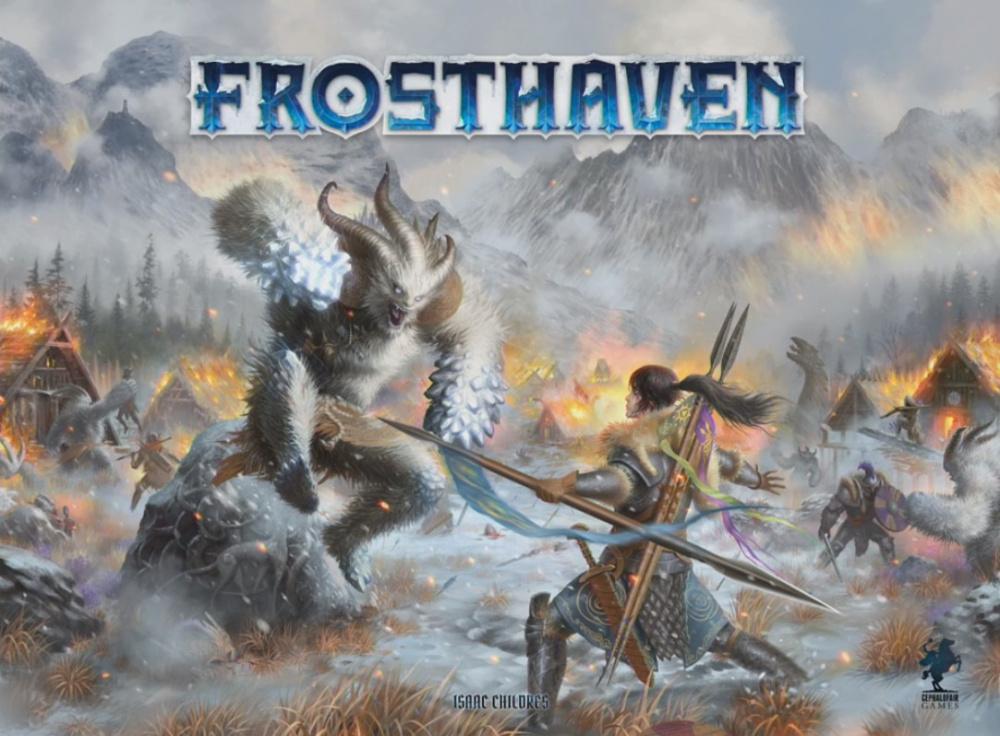 Продолжение Gloomhaven Frosthaven привлекло  5 млн финансирования в свой первый день