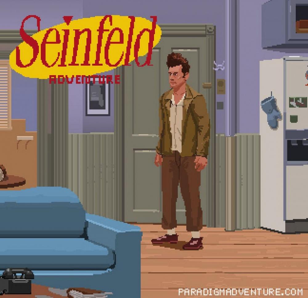 Два инди Дева раскачивают приключенческую игру Seinfeld