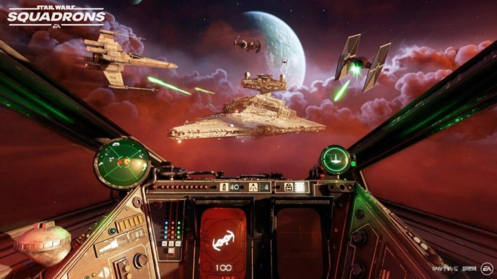 Какие интересные детали будут в Star Wars Squadrons