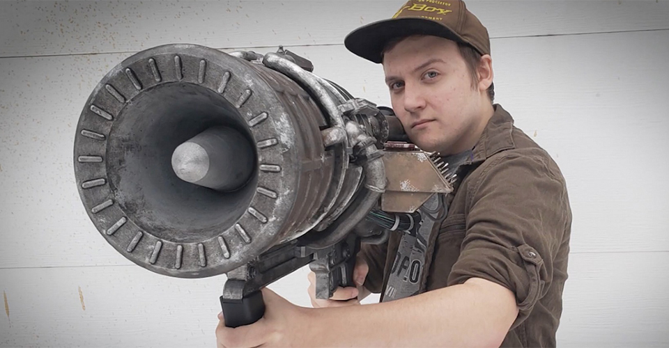Громовоя пушка от зомби была в живую воссоздана фанатом игры CoD Black Ops