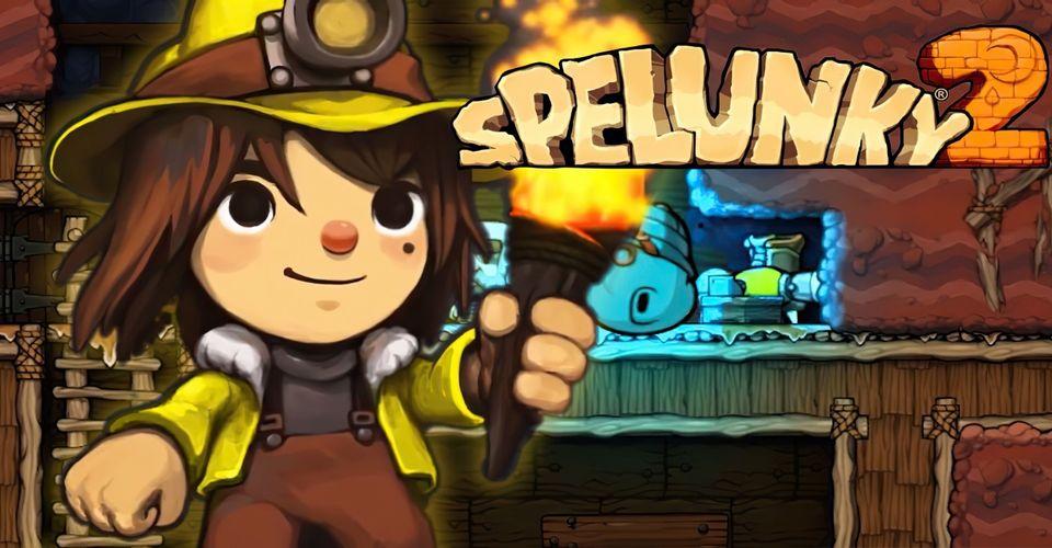 Спидраннеры поставили новый рекорд в Spelunky 2