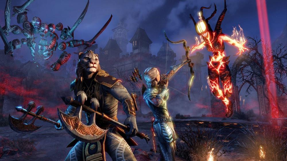 Халява Steam Раздача комплектов в The Elder Scrolls Online