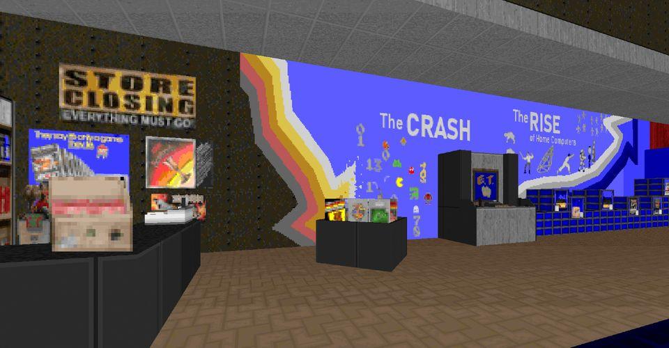 Национальный музей видеоигр воссоздан в DOOM