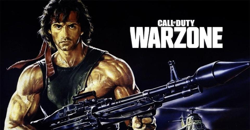 В Call of Duty Warzone может появиться Джон Рэмбо