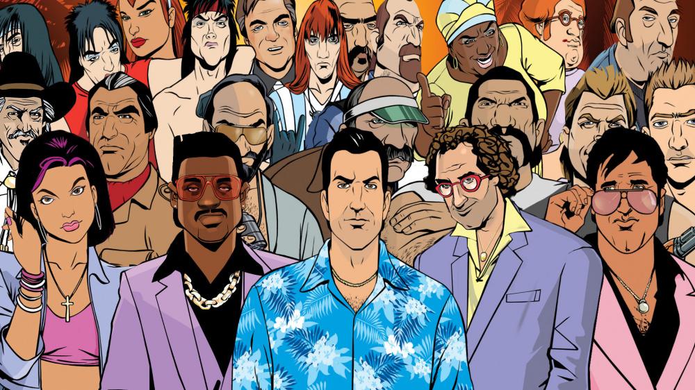 Grand Theft Auto Vice City Mod добавляет в игру новые текстуры