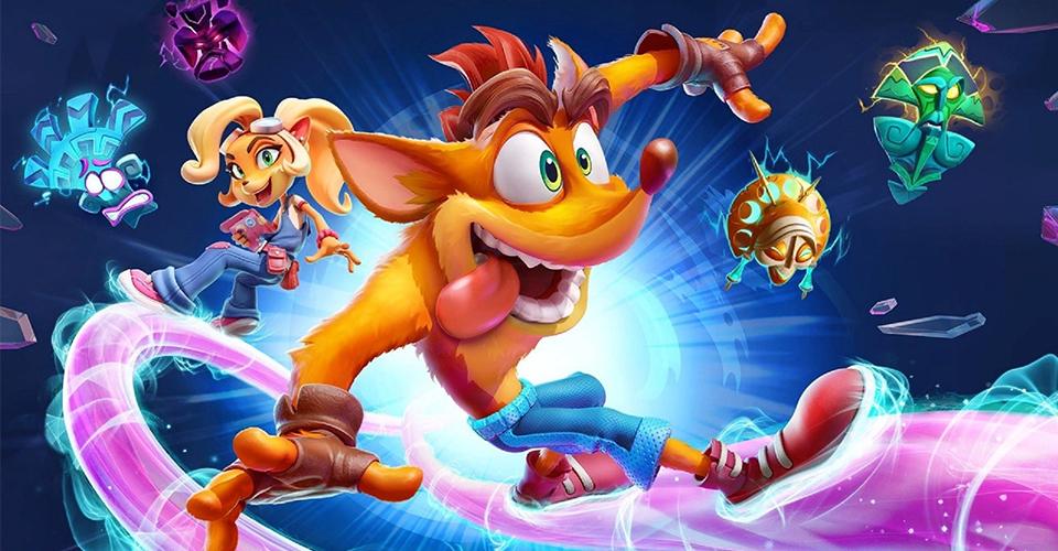 Разработчики Crash Bandicoot 4 показали трейлер с отсылкой на Uncharted 4