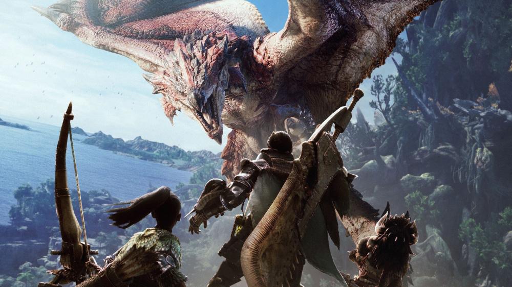 Monster Hunter World следующее обновление было отложено