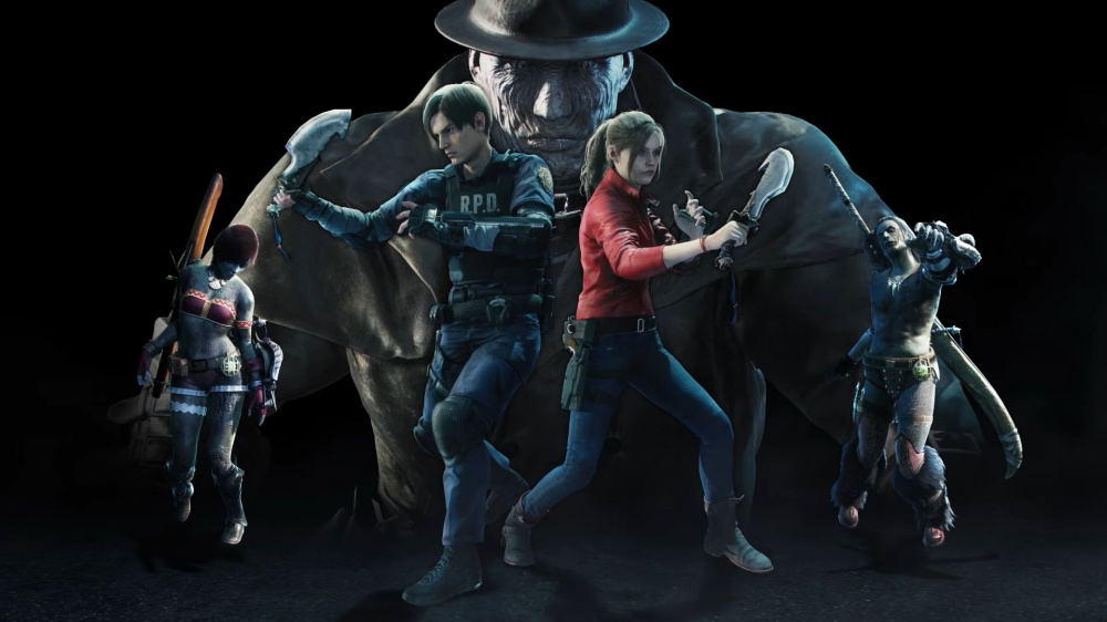 Monster Hunter Worlds Resident Evil 2 crossover выходит на PC