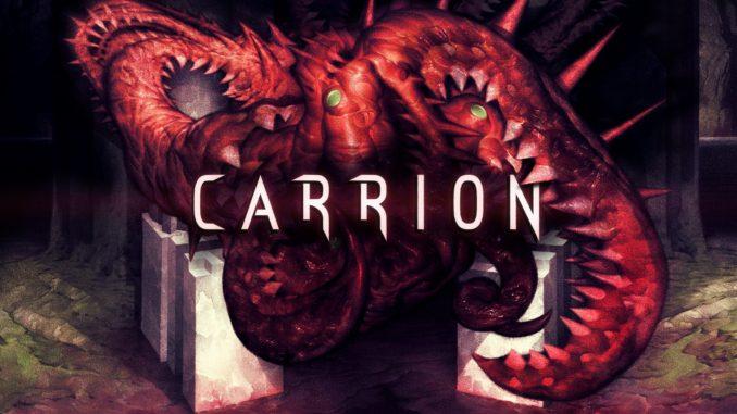 CARRION  игра ужасов с изюминкой