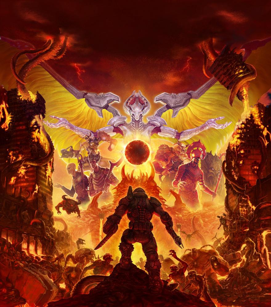 Doom Eternal может сделать 1000 кадров в секунду