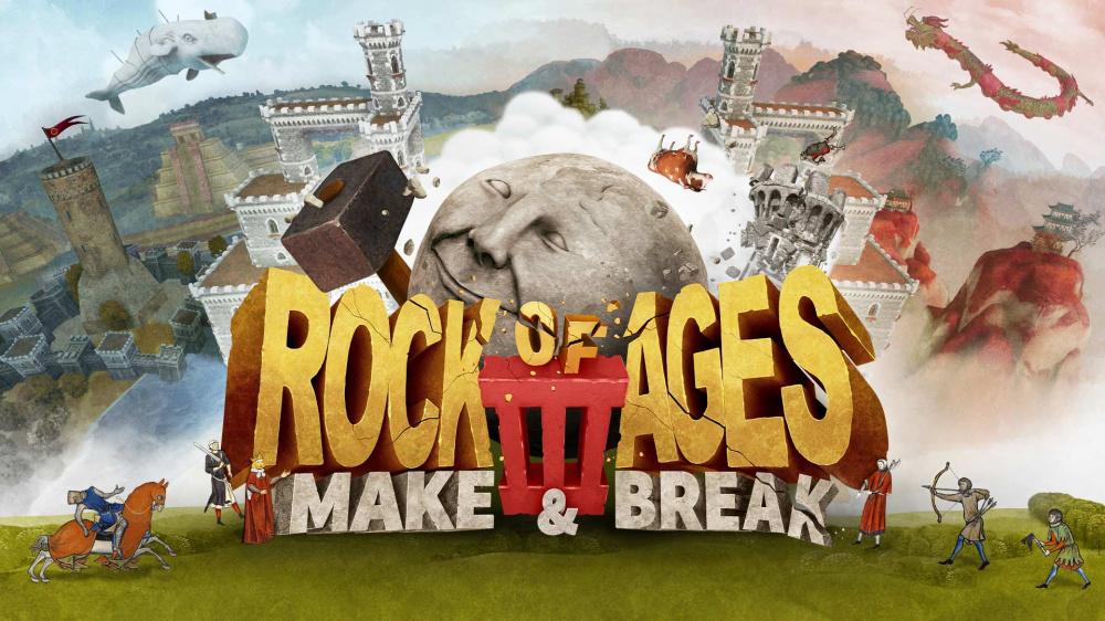 Забавный обзор Rock of Ages III Make  Break для PC