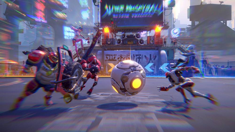 Super Buckyball Tournament  ядерная смесь Overwatch и Rocket League
