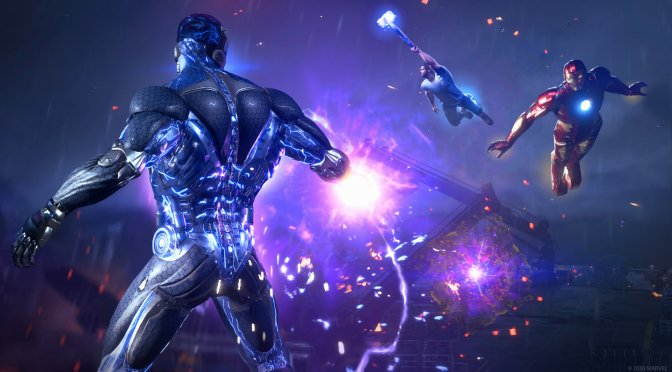 Настройки графики для Marvels Avengers