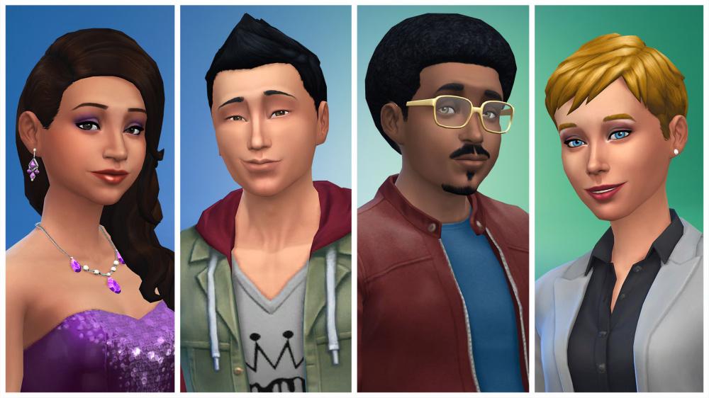 В декабре The Sims 4 получит 100 свежих скинов