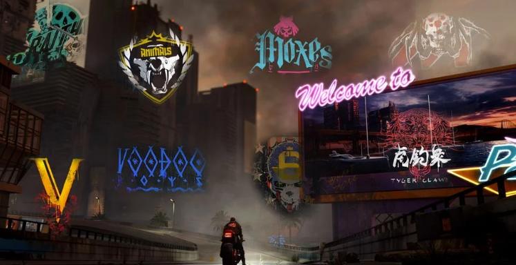 Cyberpunk 2077 Банды в Night City