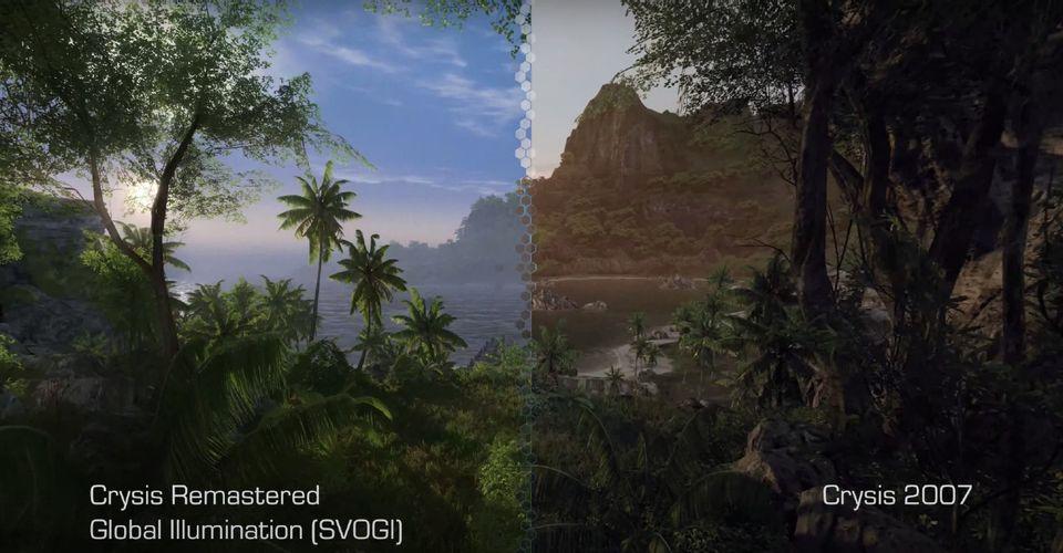 В трейлере 8K Crysis Remastered сравнили с оригинальной игрой