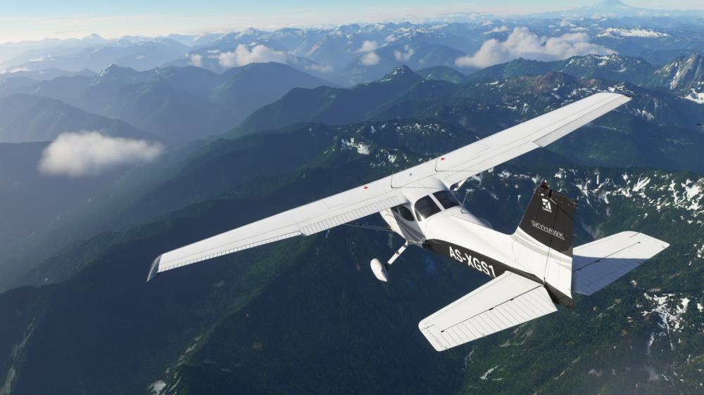 Ктото выложил почти час видеозаписи Microsoft Flight Simulator
