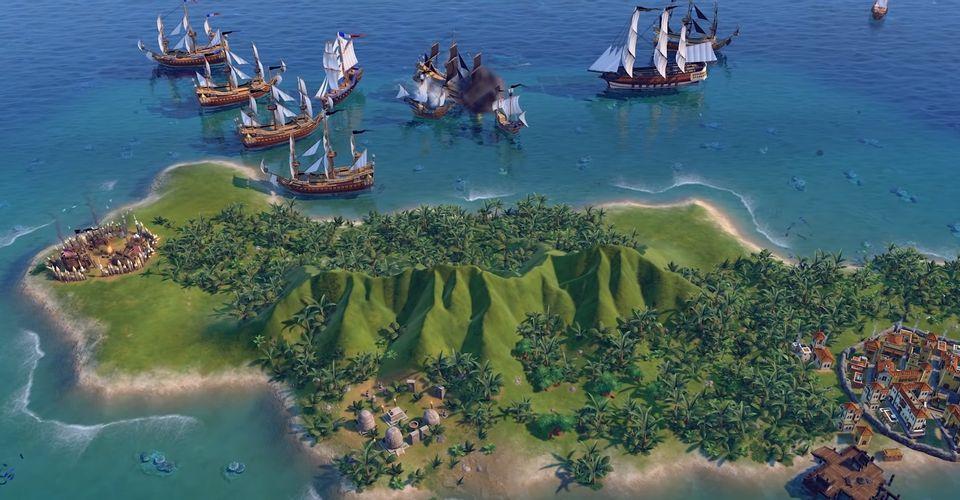 Готовы к настоящим пиратским приключениям в Civilization 6