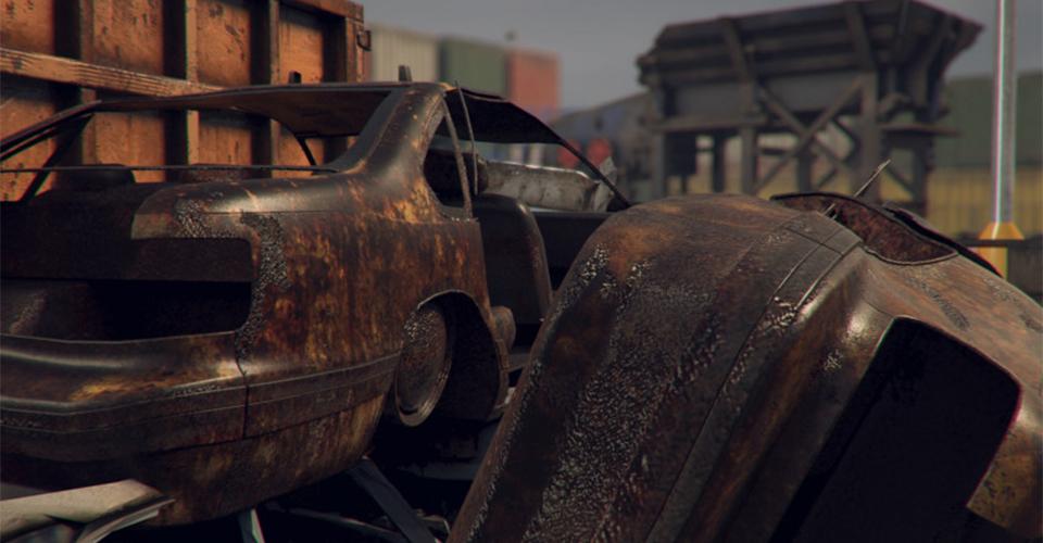 Осваивайте предпринимательство на автохламе с помощью Car Scrapyard Simulator