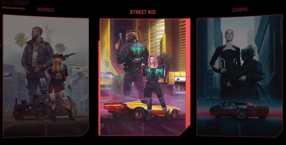 Трейлер Cyberpunk 2077 Lifepaths показывает уникальные предыстории