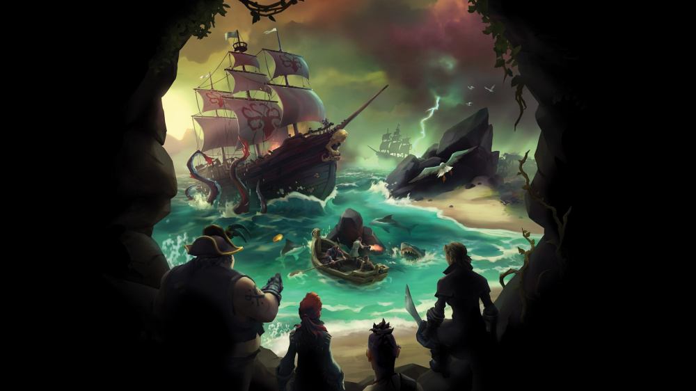 Обновление Sea of Thieves было отложено