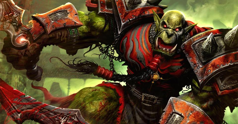Один из художников изобразил Doom с Warcraft