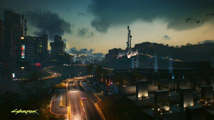 Разработчики Cyberpunk 2077 представили новые невероятные скриншоты