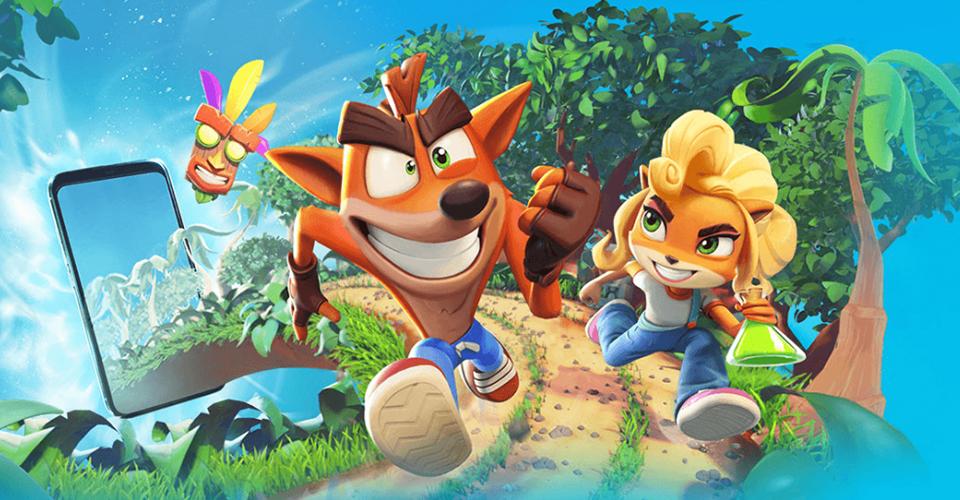 Релиз мобильной игры Crash Bandicoot On the Run уже в марте