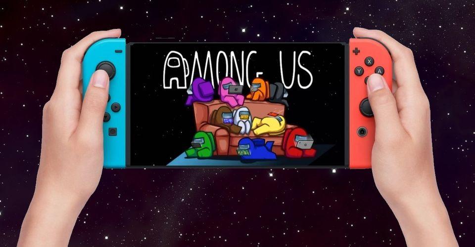 Выпуск Among Us для гибридных консолей от Nintendo