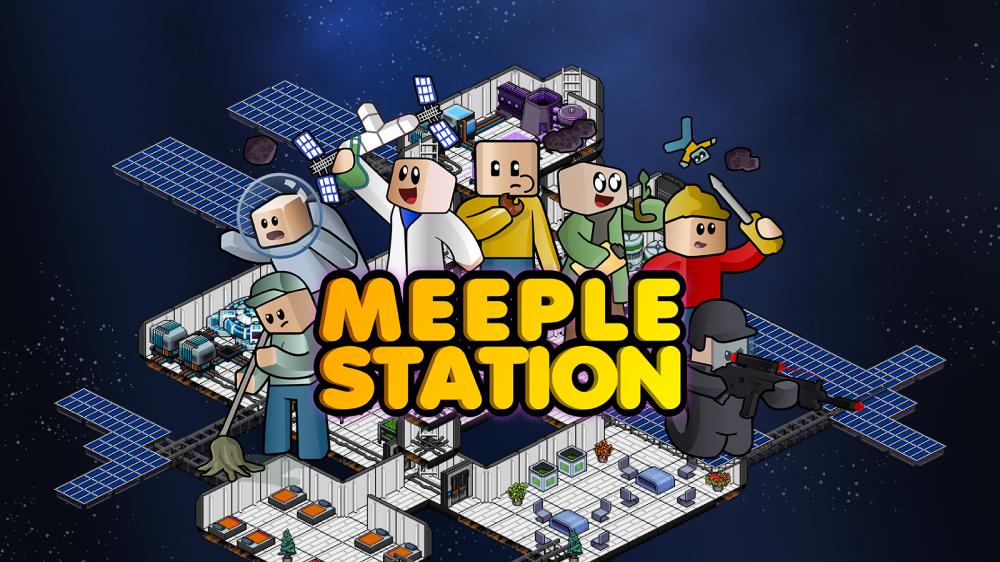 Космическая колония sim Meeple Station покидает ранний доступ