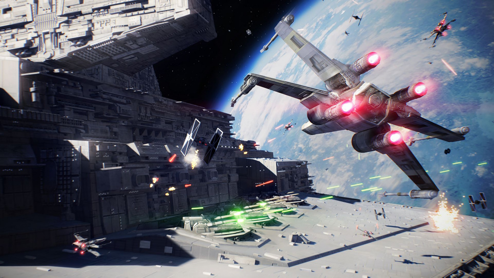 Electronic Arts как сообщается отменила спинофф Star Wars Battlefront в прошлом году