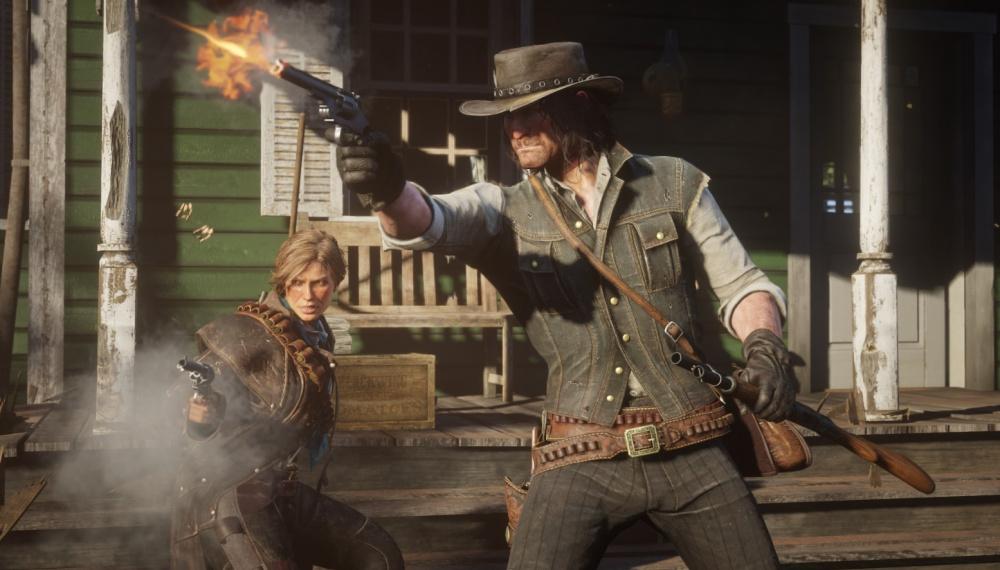 NPC Red Dead Redemption внезапно стал жестоким героем без всякой причины