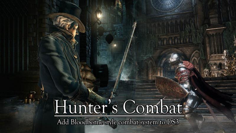 Играйте в Dark Souls 3 как Охотник за кровью с этим модом