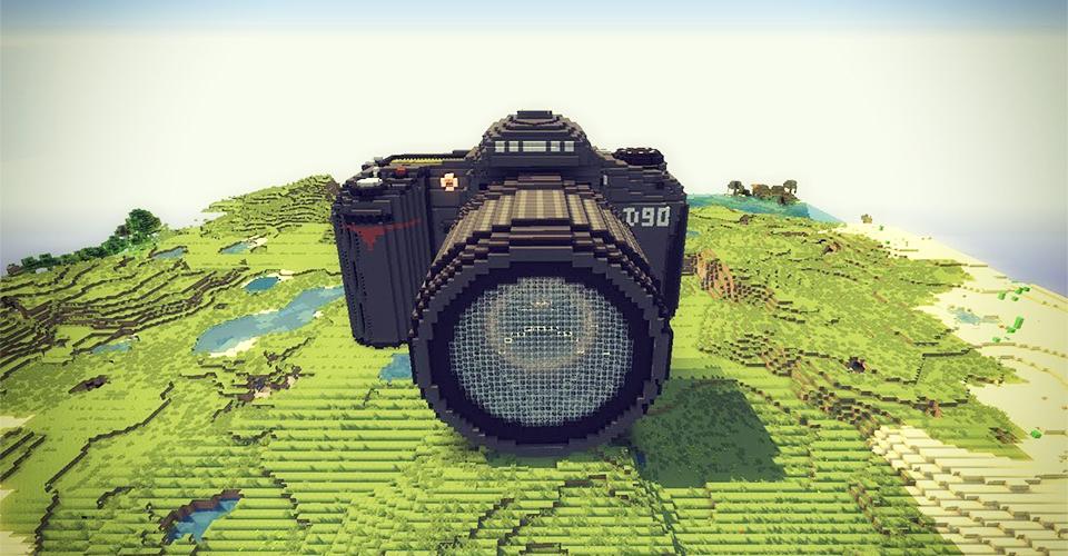 Один энтузиастпрограммист на фотоаппарате запустил сервер Minecraft