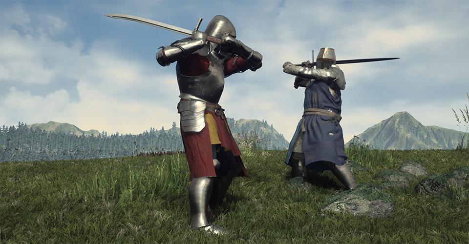 Открытый мир строительство и битвы  вс в новом средневековом экшене