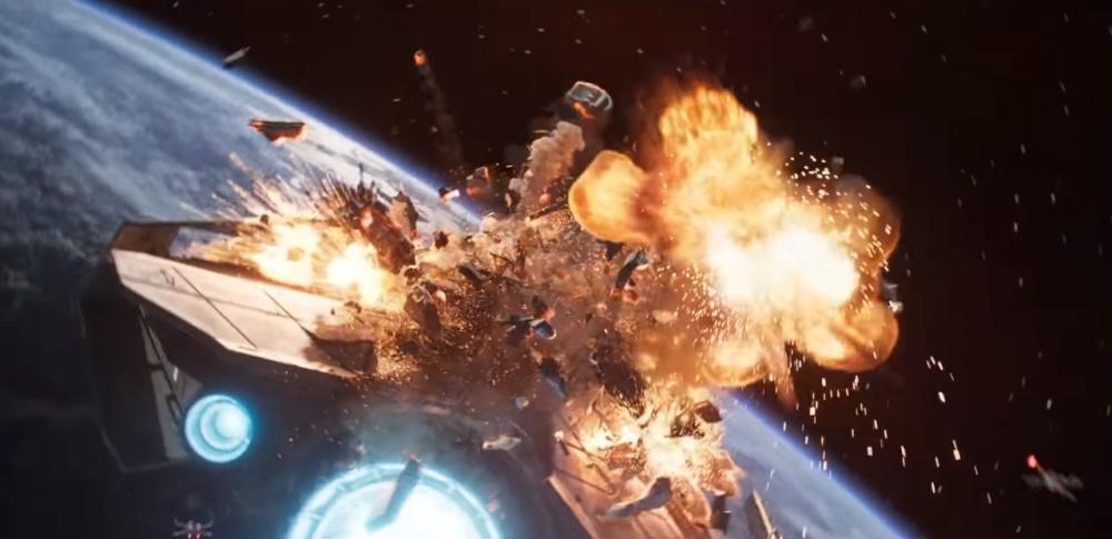 Star Wars Squadrons выпустила короткометражку Охота