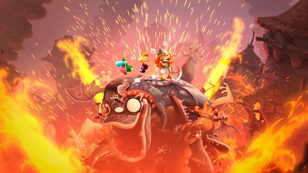 Rayman Legends свободен для хранения прямо сейчас но не надолго