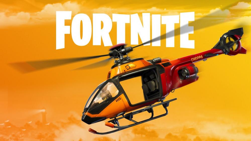 Fortnite получает вертолеты и меняет карту