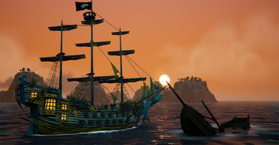 King of Seas  новый пиратский экшен