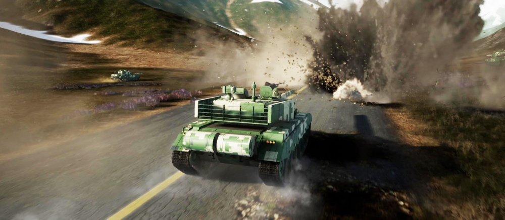 В Steam стартовал новый танковый экшн с огромными картами